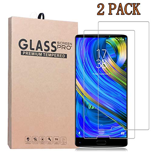 [2-Pack] HOMTOM S9 Plus Screen Protector,Premium Quality Tempered Glass Protective Film 0.33mm Anti-Bubble Shield 9H Hardness Clear Scratch Resist Bubble-Free Anti-Fingerprint High Responsivity