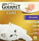 Gourmet - Alimento para Gato - Húmedo - Gold Mousse Pack Surtido 680 g - [Pack de 6]