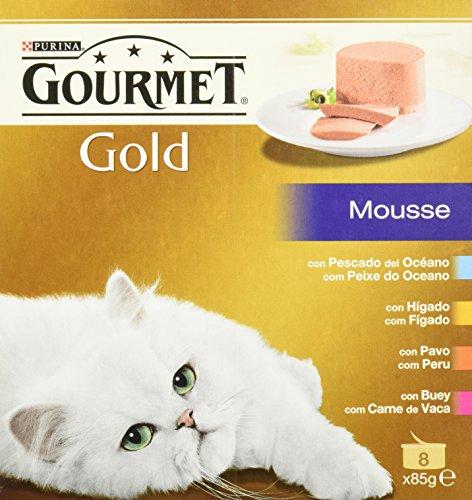 Gourmet - Alimento para Gato - Húmedo - Gold Mousse Pack Su