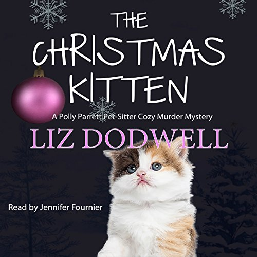 The Christmas Kitten audiobook cover art