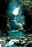 1art1 9006 Neuseeland - Wasserfall (d) Poster (92 x 64 cm)