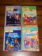 The Bailey School Kids [4] Books: Dracula Doesn't Drink Lemonade / Leprechauns Don't Play Basketball / Werewolves Don't Go To Summer Camp / Elves Don't Wear Hard Hats (The Adventures of The Bailey School Kids, #2, #4, #16, #17)