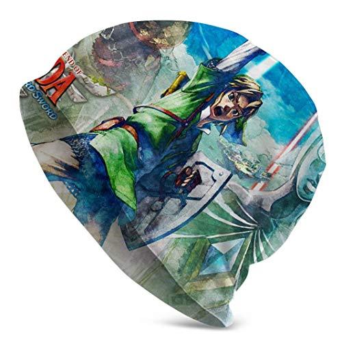 Zhgrong Die Legende von Zelda Twilight Watch Cap Skull Beanie Cap Herren Wintermütze für den täglichen Gebrauch und Sport