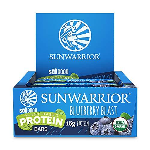 Sunwarrior Sol Good Protein Bars, Blueberry Blast, 684 g