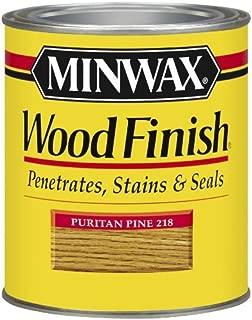 Minwax 22180 1/2 Pint Wood Finish Interior Wood Stain, Puritan Pine by Minwax