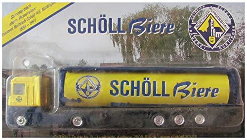 Ehemalige Brauereien Nr.03 - Nürtinger Bürgerbräu, Schöll Biere - Renault Magnum - Sattelzug mit Tankauflieger