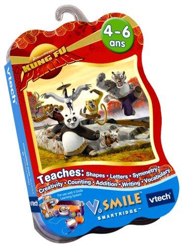 VTech - Cartouche de jeu V.Smile Kung Fu Panda - 92965