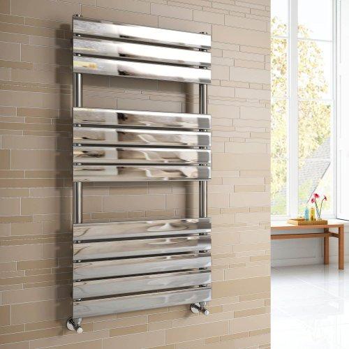 Soak Radiador toallero de diseño de 1200 x 600 con paneles planos