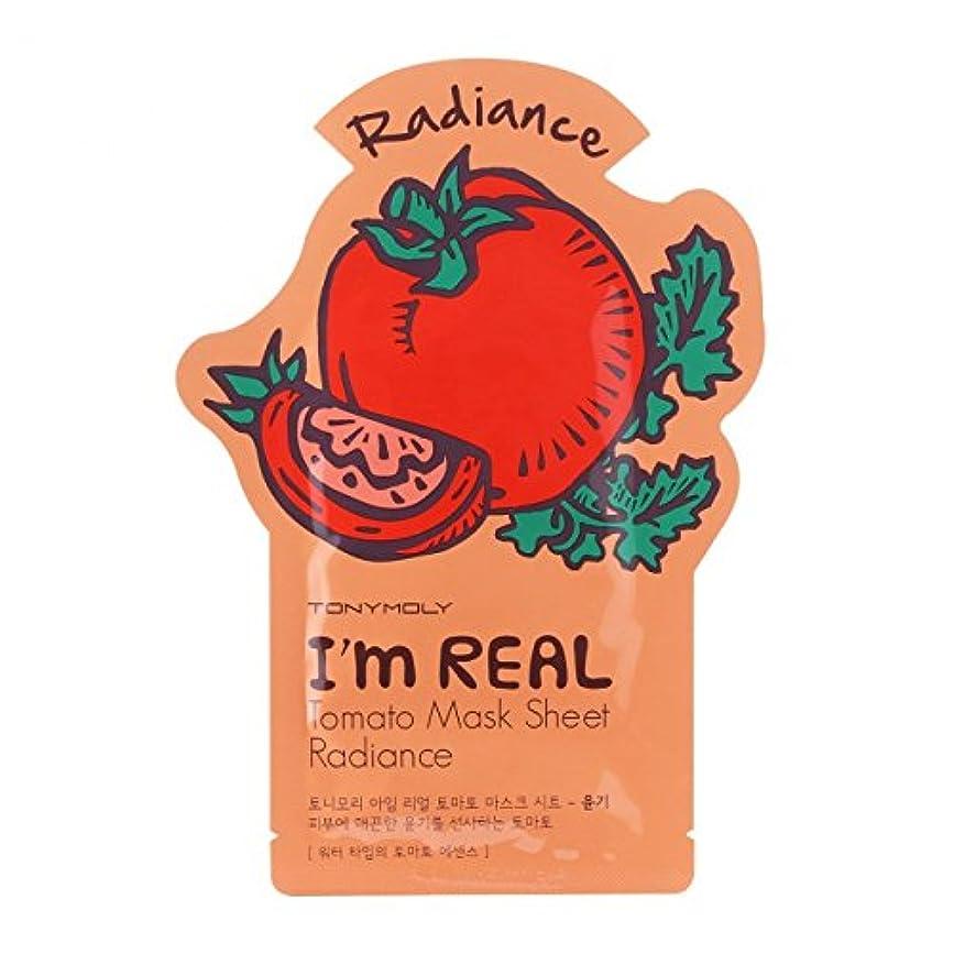 手書き任意意味のある(3 Pack) TONYMOLY I'm Real Tomato Mask Sheet Radiance (並行輸入品)