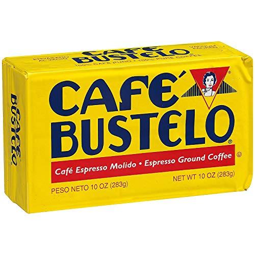 Cafe Bustelo Espresso Ground Coffe 10 oz Brick Each (4 Pack)