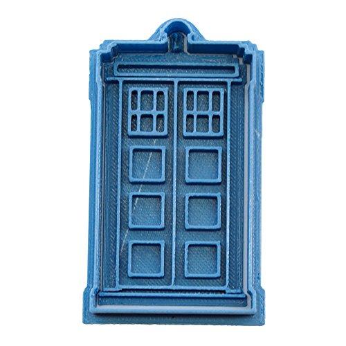 Cuticuter Doctor Who Tardis Ausstechform, Blau, 8x 7x 1.5cm
