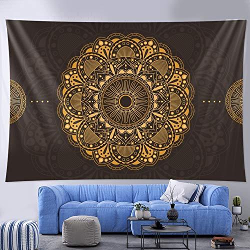 PPOU Indio Mandala Colgante de Pared brujería Tapiz Hippie Bohemio decoración del hogar Fondo Tela Manta Tela Colgante A1 180x200cm