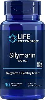 Life Extension Silymarin Vegetarian Capsules 100 mg, 90 Vegetarian Capsules