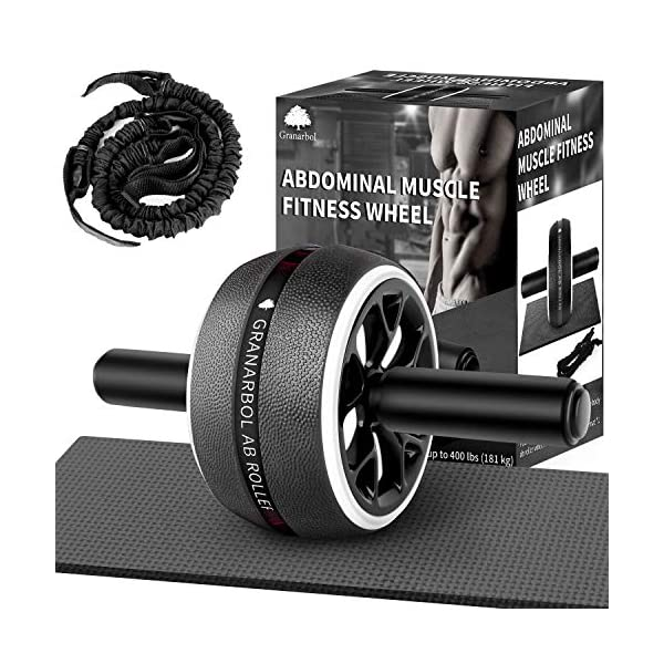 Granarbol Ab Roller for Abs Workout, Ab Roller Wheel for Core Workout, Home &...