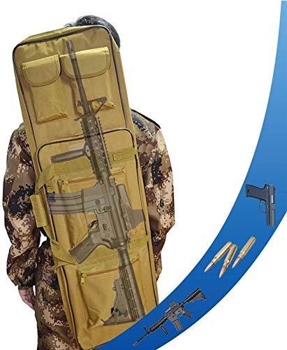 HNWTKJ Bolsa De Rifle Engrosado, Maleta De Armas Acolchada para Armas Largas, con Correa De Hombro Ajustable, para Agua Táctica Al Aire Libre De Carbina Y Tiro A Prueba De Polvo.