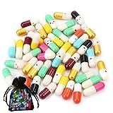 Messaggio capsula viso sorridente in una bottiglia lettera Love Friendship pillola regalo (200 pezzi)