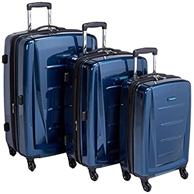 Samsonite Winfield 2 3PC Hardside (20/24/28) Luggage Set, Deep Blue