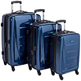 Samsonite Winfield 2 Hardside Expandable Luggage with Spinner Wheels, Deep Blue