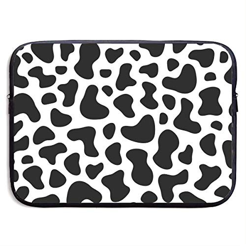 Laptop Sleeve Case Cow Print Laptop Cover Bag Compatible 13-15 Inch Laptop