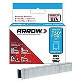 Arrow ARRT5012SS - Grapas (tamaño: 12mm, pack de 1000)