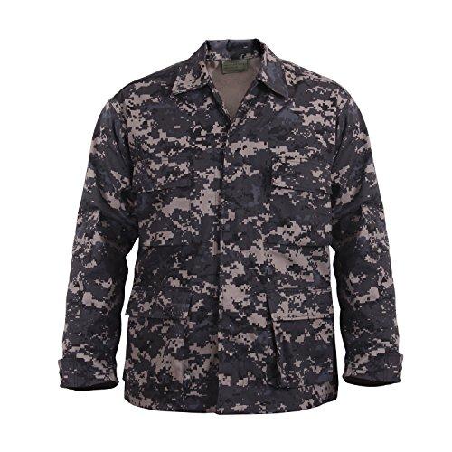 Rothco Camo BDU (Battle Dress Uniform) Military Shirts, Subdued Urban Digital Camo, 2XL