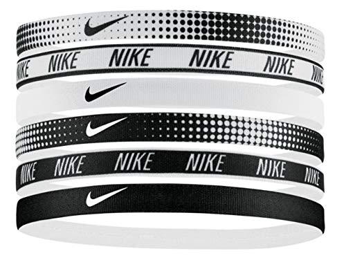 Nike Unisex Swoosh Headbands – 6 Pack