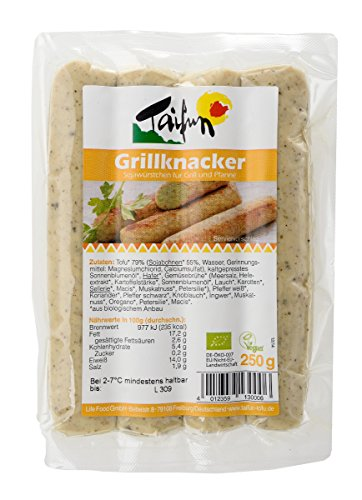 Taifun Grillknacker (4 Stück), vegan, 250g