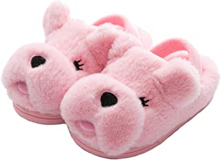 Image of Pink Puppy Dog Slippers for Girls and Toddler Girls - More Colors Available