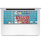 igsticker MacBook Air 13inch 2010 ~ 2017 専用 キーボード用スキンシール キートップ ステッカー A1466 A1369 Apple マックブック エア ノートパソコン アクセサリー 保護 015797 鯉のぼり 空 端午の節句