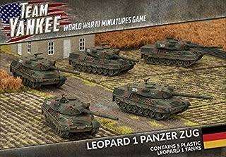 Team Yankee: West German: Plastic Leopard I Panzer Zug (TGBX14)