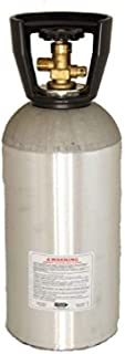 NEW 10 LB EMPTY CO2 ALUMINUM CYLINDER TANK CGA 320 VALVE WITH CARRY HANDLE