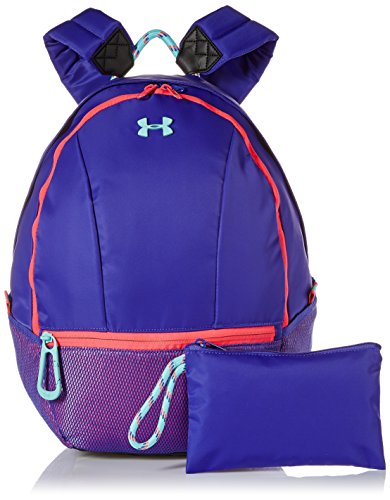 Under Armour Girls' Downtown Backpack, Constellation Purple (530)/Tropical Tide, One Size Fits All