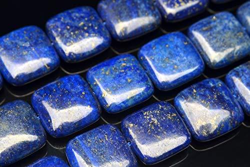 【 福縁閣 】ラピスラズリ スクエア 16x16mm 1連(約38cm)_RG85-16天然石 パワーストーン ビーズ