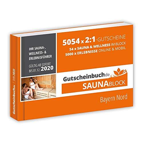 Gutscheinbuch.de Saunablock Bayern Nord 2019/20