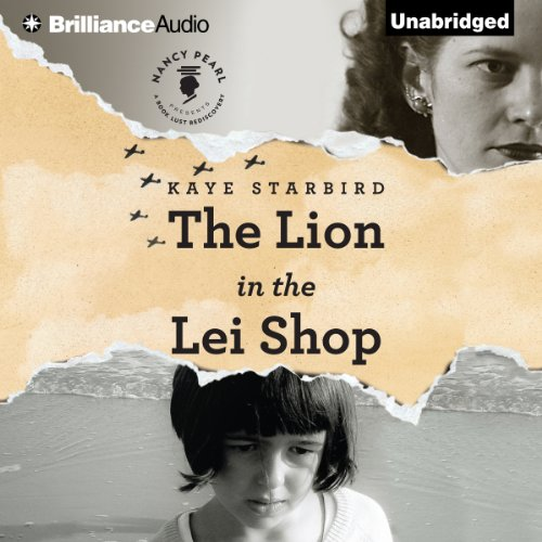 The Lion in the Lei Shop audiobook cover art