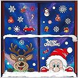 pegatinas navidad para ventanas,navidad pegatina de pared,Navidad Tienda De Ventana Pegati...