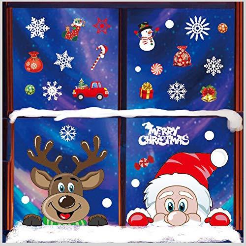 pegatinas navidad para ventanas,navidad pegatina de pared,Navidad Tienda De Ventana Pegatinas,Navidad Calcomanías de Ventana
