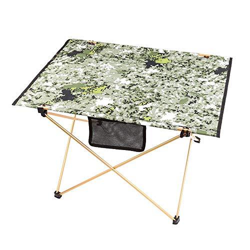 Mzl Outdoor Aluminium Vouwtafel BBQ Picknicktafel Camping Draagbare Strand opklapbare Tafel Licht 70cm*50cm*45cm (eenvoudige installatie) A