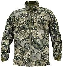 EHG Elite Pineland Series Mid-Season Grid Fleece Camo Hunting Jacket (Contour, XX-Large)