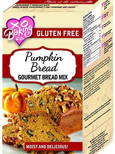 XO Baking Gourmet Pumpkin Bread Mix - Flavorful Moist Gluten Free Pumpkin Bread - No Preservatives or Artificial Flavors