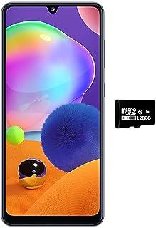 "Samsung Galaxy A31 (128GB, 4GB) 6.4"" FHD+, Quad Camera, 5000mAh Battery, Dual SIM GSM Unlocked US + Global 4G LTE Internat..."