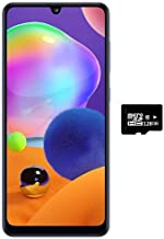 "$273 » Samsung Galaxy A31 (128GB, 4GB) 6.4"" FHD+, Quad Camera, 5000mAh Battery, Dual SIM GSM Unlocked US + Global 4G LTE International Model - A315G/DSL (Prism Crush Blue, 128GB + 128GB SD + Case Bundle)"