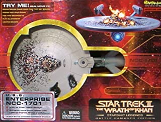 Star Trek Wrath of Khan Starship Legends Battle Damaged Enterprise