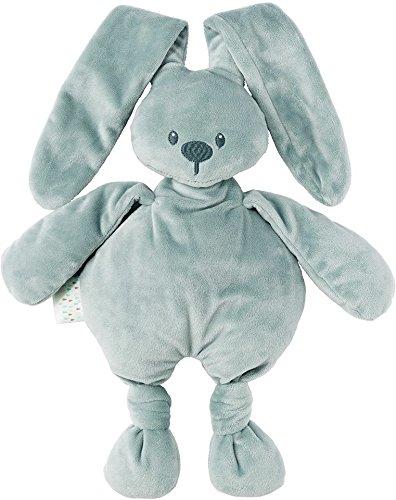 Nattou Kuscheltier Hase Lapidou, Wegbegleiter ab der Geburt, 36 cm, Graugrün