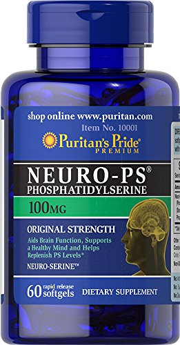 Puritan's Pride Neuro-PS (Phosphatidylserine) 100 mg-60 Softgels