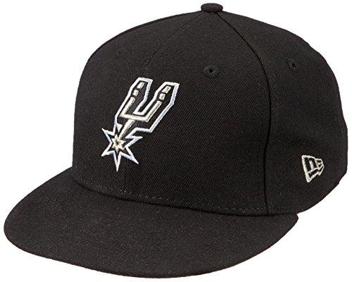 New Era NBA Team Classic Saaspu OTC - Gorra Línea San Antonio Spurs para Hombre, Color Negro, Talla 7 0/0