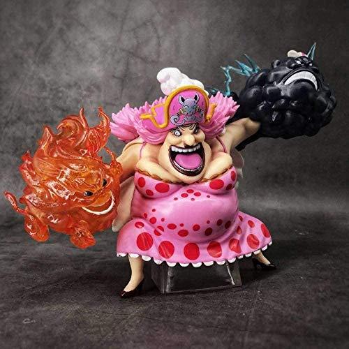 Uooen Figuras de una Pieza Linlin Big Mom Figura de accion 24Cm Coleccion de Anime Muneca Juguetes Collectr para Regalo de Amigo