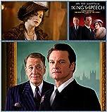 3-HOF531 The Kings Speech 35cm x 37cm,14inch x 15inch Silk