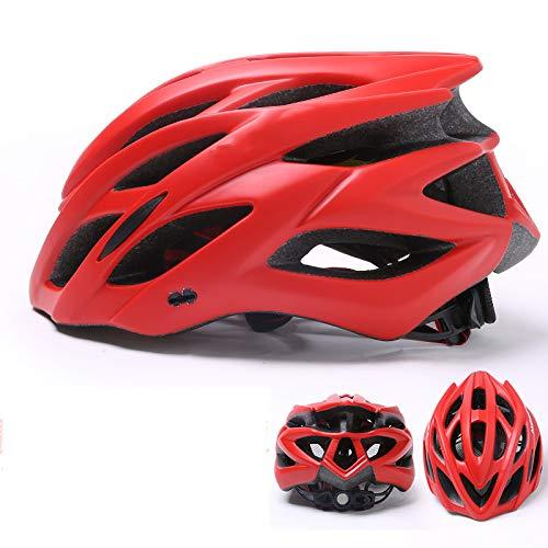 BOC Czz Fahrradhelm, Männer Und Frauen Mountainbike Ausrüstung Integriert Rennrad Fahrradhelm,C,Helm
