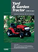 Yard & Garden Tractor Service Manual- 1990 & Later, Vol. 3: Single & Multi-Cylinder Models (Clymer ProSeries)